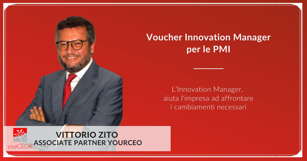 Innovation Manager Vittorio Zito
